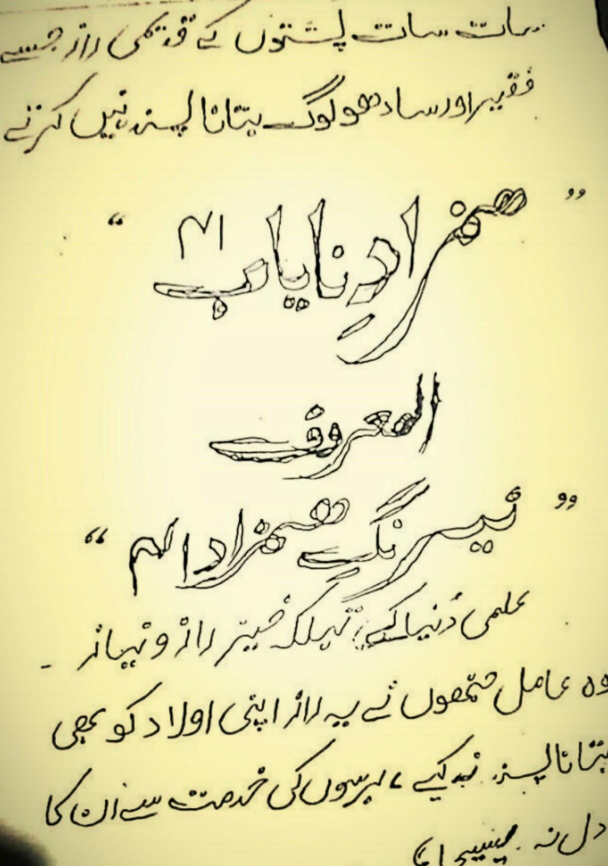 Hamzad e Nayab Al Mahrof Neraung Hamzad PDF Free Download