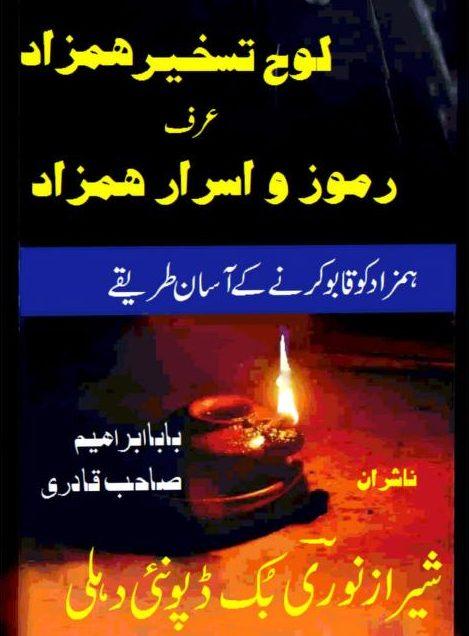 Loh Taskher e Hamzad PDF Free Download